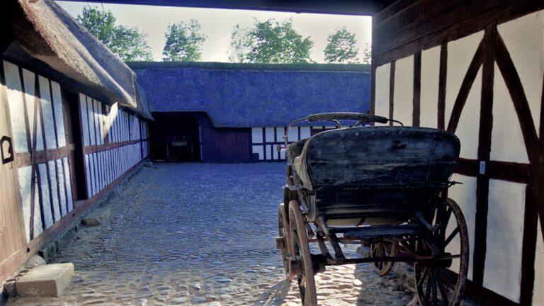 Glud Museum hestevogn